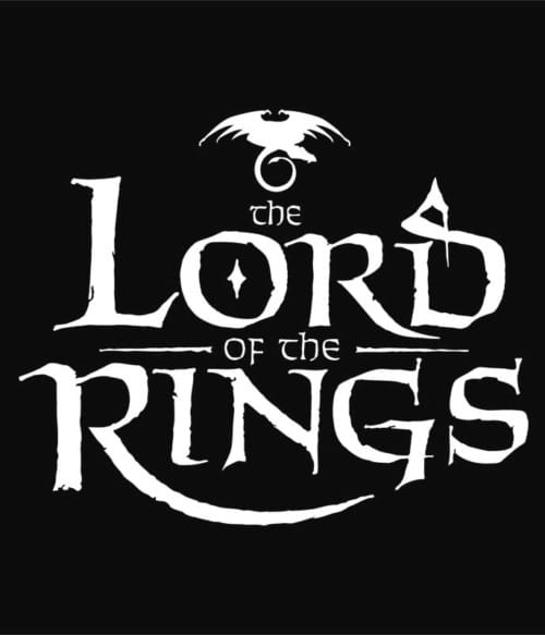 The Lord Of The Rings Logo Póló - Ha The Lord of the Rings rajongó ezeket a pólókat tuti imádni fogod!