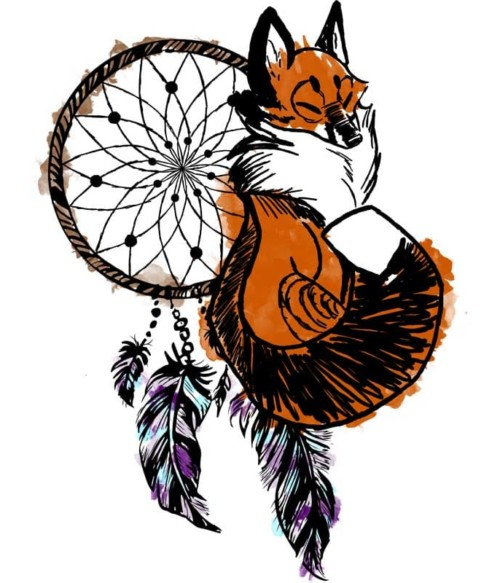 Dreamcatcher fox