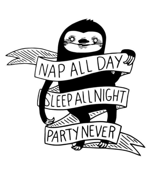 Nap all day sloth