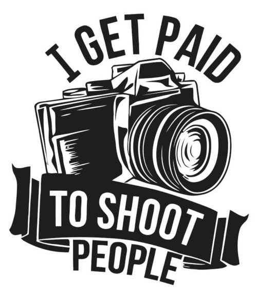 I get paid to shoot people