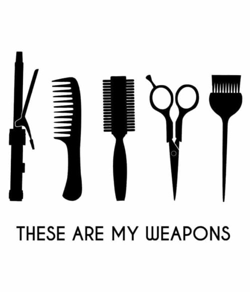 Hair weapons