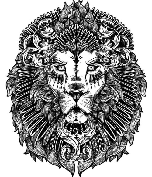 Ornamental lion