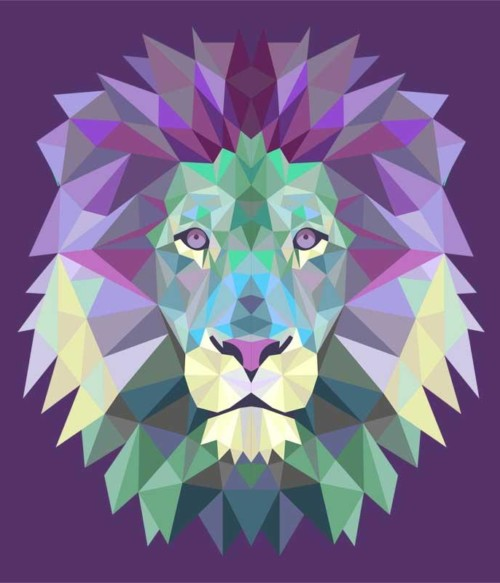 Polygon Lion