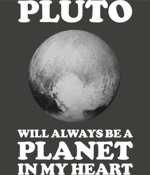 Pluto planet in my heart