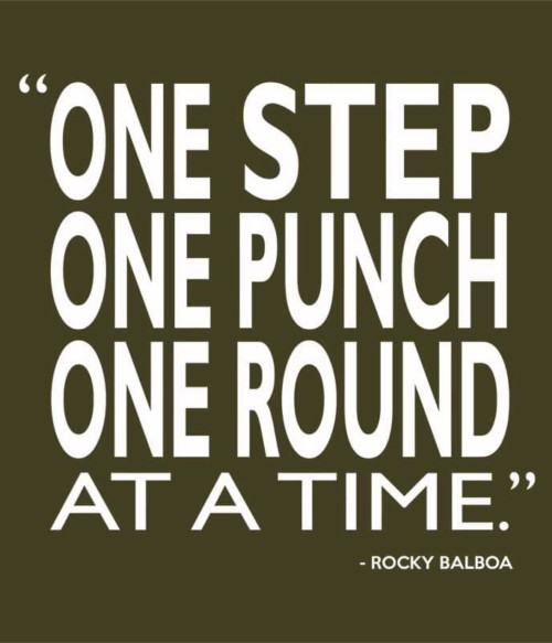 One Step, One Punch, One Round