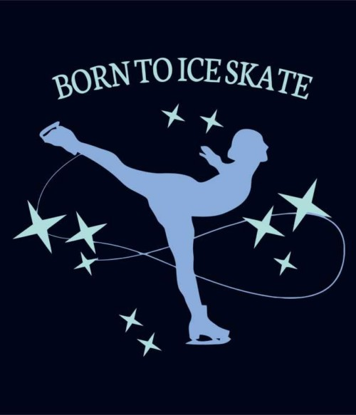 Born to ice skate