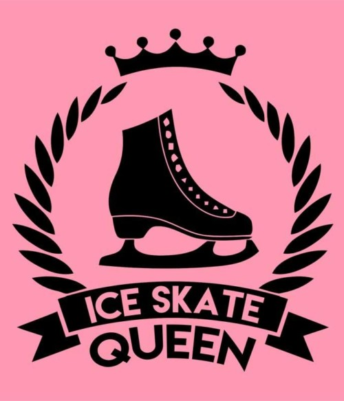 Ice skate queen