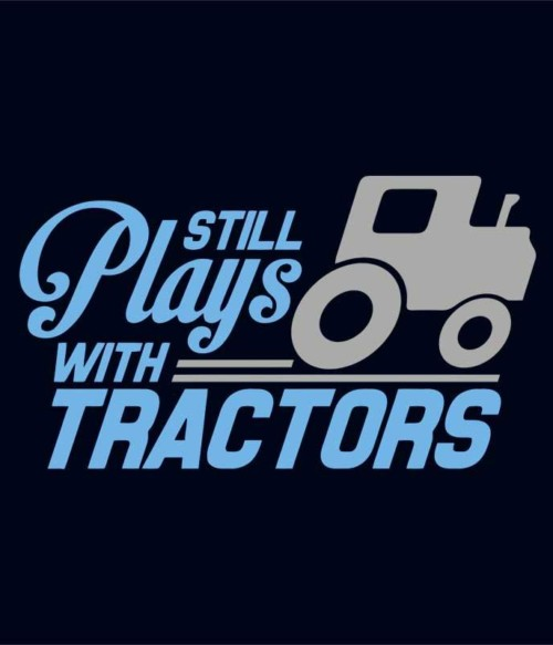 Plays with tractors