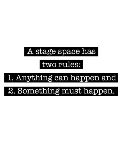 Stage has two rules