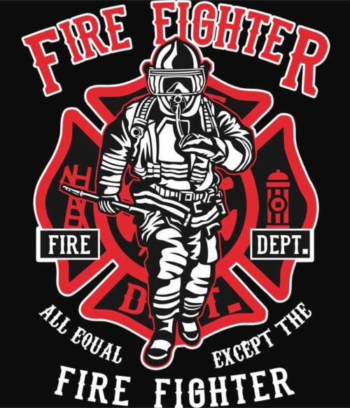 All equal except the firefighter