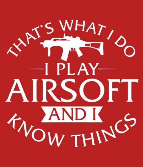 I play airsoft and I know things