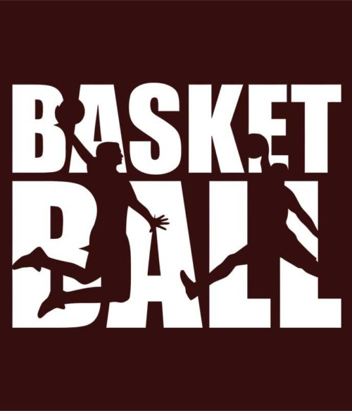 Basketball Silhouette Text