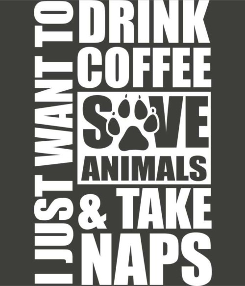 Drink coffee and save animals