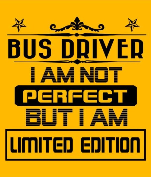 Limited Edition Bus Driver