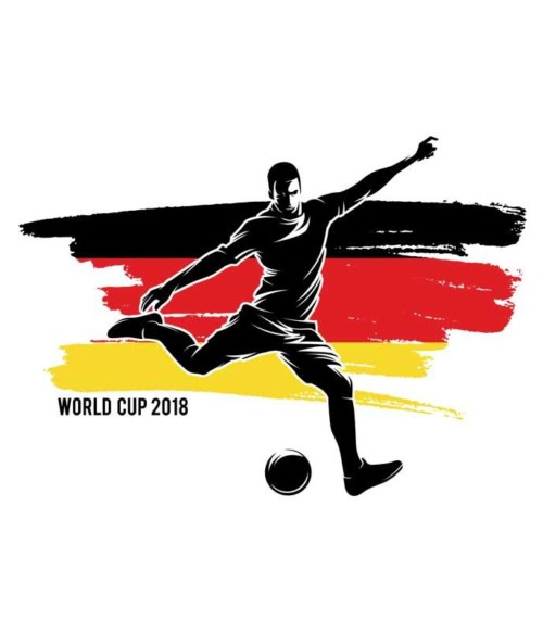 World Cup Flag Player Germany