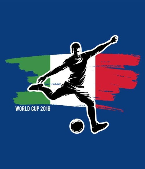World Cup Flag Player Italy