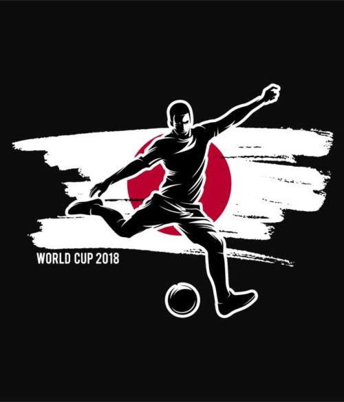 World Cup Flag Player Japan