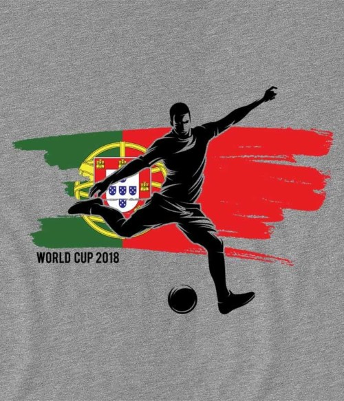World Cup Flag Player Portugal