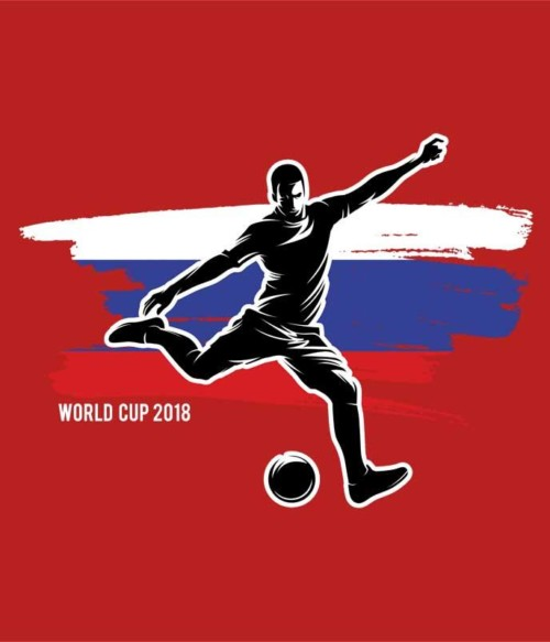 World Cup Flag Player Russia