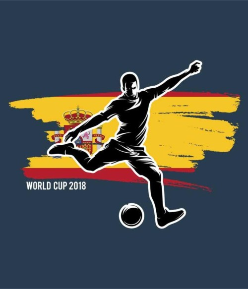 World Cup Flag Player Spain