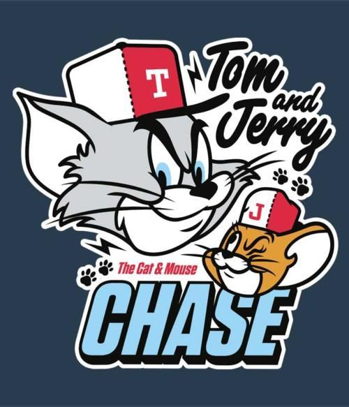 The cat and mouse chase Póló - Ha Tom and Jerry rajongó ezeket a pólókat tuti imádni fogod!