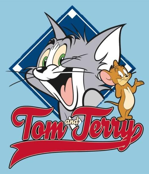 Tom and Jerry badge Póló - Ha Tom and Jerry rajongó ezeket a pólókat tuti imádni fogod!